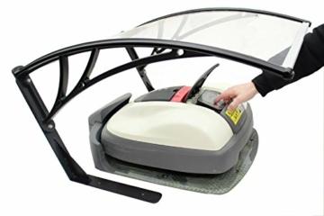 baumarktplus m hroboter garage carport f r rasenroboter automower roboterzentrale. Black Bedroom Furniture Sets. Home Design Ideas